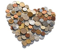 hart van geld